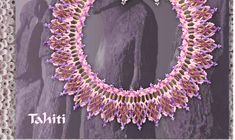 Free Pattern Schema For Necklace Tahiti | Beads Magic