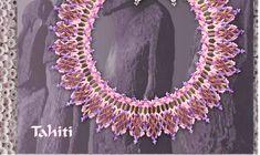 Free Pattern Schema For Necklace Tahiti | Beads Magic