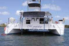 56' 1997 Jenco, Mandalay, Weather protected, aft sail helm station. Poor ocean cruising clearance. http://completeyachtcharters.com/mandalay.html