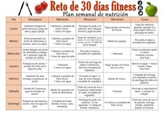 Weekly nutrition plan to lose weight. 30 Day Workout Challenge, Food Challenge, Dieta Fitness, Health Fitness, Healthy Habits, Healthy Tips, South Beach Diet, Nutrition Plans, Natural Health