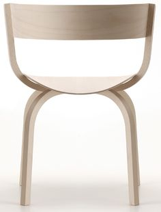 404 wood series chairs by stefan diez, produced by thonet http://decdesignecasa.blogspot.it