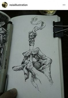 Finelyner Sketch Hand with Cigarettes - .- Finelyner Sketch Hand mit Zigaretten – Finelyner sketch hand with cigarettes - Kunst Tattoos, Skull Tattoos, New Tattoos, Graffiti Tattoo, Graffiti Drawing, Vexx Art, Ink Art, Granate Tattoo, Tattoo Sketches