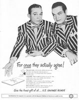 Research Magazine Advertisements. The Best Resource on the Net of Vintage Ads! US Savings Bonds Bob Hope and Bing Crosby… Magazine Ads, Print Magazine, Vintage Ads, Vintage Prints, Vintage Posters, Old Advertisements, Advertising, Bob Hope, Poster Vintage