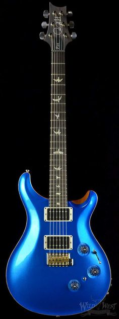 PRS Paul Reed Smith P24 Warp Speed Blue Metallic