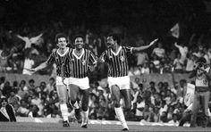 Gol do Fluzão - Leomir, Aldo e Assis