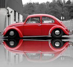 bus bugs and babes Volkswagen Beetle Vintage, Volkswagon Van, Vw Volkswagen, Vw Bugs, German Look, Vw Accessories, Hot Vw, Vw Classic, Cute Cars