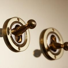Light Switches- Unlacquered Brass