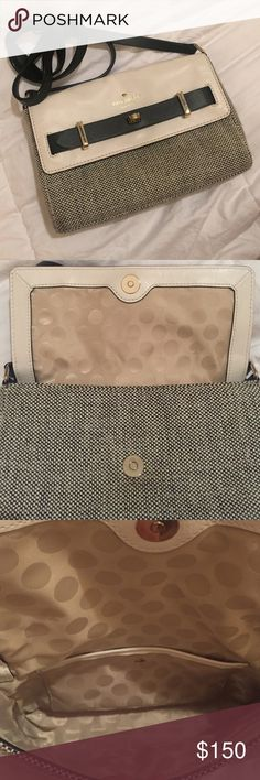 Kate spade handbag Cross body in perfect condition. Took it out twice . kate spade Bags Crossbody Bags