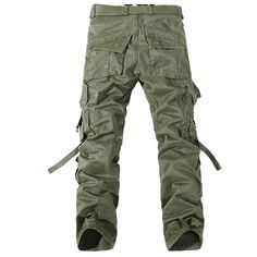 Casual Mens Fashion Military Army Cargo Straight Army Combat Long Trousers Pants | eBay
