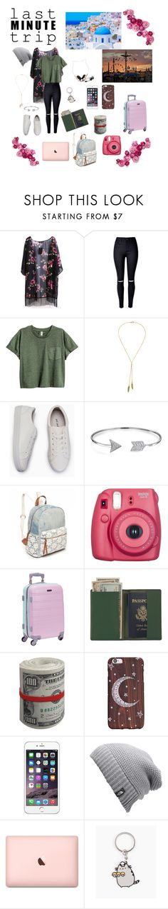 """last minute trip⏰"" by vivi-603 on Polyvore featuring Bølo, Bling Jewelry, Red Camel, Fujifilm, Rockland Luggage, Royce Leather, The North Face, Pusheen and Forever 21"