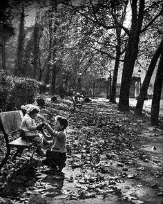 Gülhane parkında çocuklar.1957.