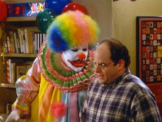 Eric.. What kind of name is that for a clown! -George #Costanza #Seinfeld