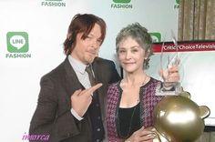 Norman Reedus & Melissa McBride (Daryl & Carol of Walking Dead)