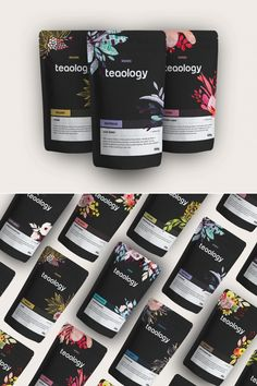 Teaology – Fivestar Branding Agency Teaology tea package design by Kendra Garagan Pouch Packaging, Cool Packaging, Luxury Packaging, Food Packaging Design, Coffee Packaging, Packaging Design Inspiration, Brand Packaging, Spices Packaging, Identity Design