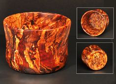 The Warmth of Wood » Burl bowl: unknown species with advanced decay