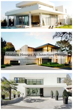 15 Top Modern Houses Architecture Design For Cozy Living Idea Modern Villa Design, Modern Architecture Design, Architecture Images, House Architecture, Building A New Home, Architect House, Modern Houses, Cozy Living, Traditional House