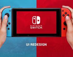 다음 @Behance 프로젝트 확인: \u201cNintendo Switch Interface\u201d https://www.behance.net/gallery/51872167/Nintendo-Switch-Interface