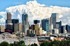 Denver Travel Guide on TripAdvisor : Denver, Colorado - storm brewing on the Eastern Plains in the distance. Visit Colorado, State Of Colorado, Colorado Homes, Denver Colorado, Denver City, Denver Skyline, Denver Travel, Trip Advisor, Places To Go