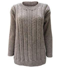 Karen Marias Sweater lang model - Kvinder - Andre designere - Designere