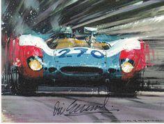 Vic Elford racing the Porsche 908/2 – Targa Florio 1969 – Nicholas ...