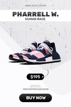 a184770eda858 Order new Human Race Adidas HU Trail HEART MIND   PW knock off sneakers