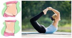 Odbourejte břišní tuk za krátký čas s těmito 4 pozicemi z jógy! | Milujeme cvičení