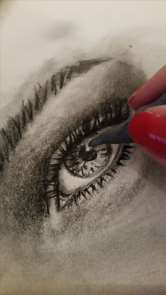 Pencli and charcoal pencil Different Media, Art Abstrait, Illustrations, Crayon, My Drawings, Charcoal, Pencil, Dibujo, Illustration