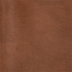 Pecos Solid Brown Faux Leather Upholstery Fabric