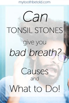 As a dental hygienist I speak to many of my patients about bad breath and where it comes from. Tonsil stones come up frequently. I go over all the causes and how to get rid of them and prevent tonsil stones in this post! :) Tonsil Stones, Strep Throat, Dental Hygienist, Bad Breath, Oral Health, How To Get Rid, Breathe, Tooth, Things To Come