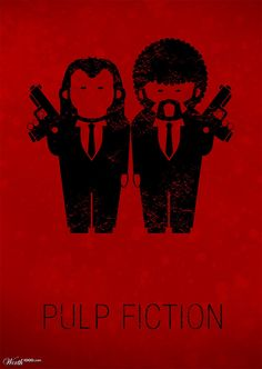 Pulp Fiction #Poster #Illustration #Design