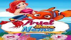 In Ariel Save Nemo, Nemo was getting hurt when he playing outside, Ariel found him accidentally. And she must save him by doing a surgery. Ariel needs your help. Play with Ariel, or the Little Mermaid, a Disney princess. Princess Games, Disney Princess, Rapunzel, The Little Mermaid, Ariel, Play, Disney Characters, Surgery, Tangled