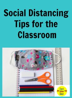 Keep everyone safe and help your students make the transition back to school with these social distancing tips for the classroom. Teaching Procedures, Classroom Procedures, Classroom Supplies, Teaching Tips, Classroom Management, Back To School Activities, School Resources, School Ideas, Elementary Teacher