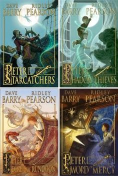 The Peter and the Starcatchers Series -- Peter Pan is my favorite book of all time. The authors of this series treat the legend with love and respect, and spin a wonderful tale about how Peter Pan came to be.