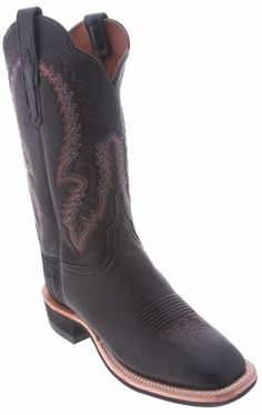 Cool Super Cool Lucchese Cowgirl 'CX2050.W8S' Elk Boots Womens (C) - Black