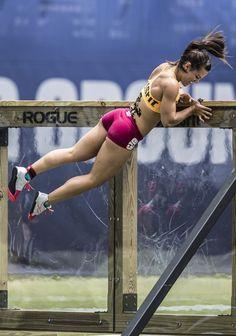 one of my favorite crossfit athletes...camille leblanc-bazinet