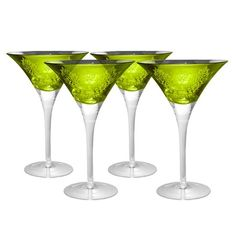 I pinned this Brocade Martini Glass - Set of 4 from the Memorial Day Warehouse Blowout event at Joss and Main!