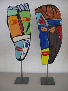Glass Wall Art, Wood Wall Art, Mannequin Art, Umbrella Art, Stained Glass Designs, Pottery Sculpture, Recycled Art, Art Classroom, Diy Canvas