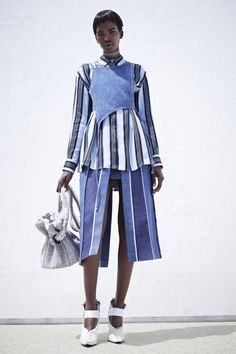 Aamito Lagum Fashion Black Fashion Models Acne Resort 2016