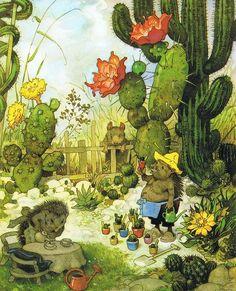 Illustration by Fritz Baumgarten