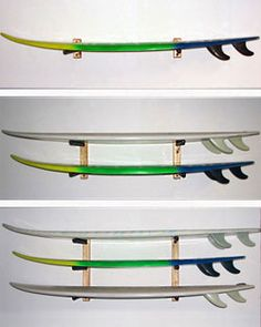 Delsol Wall Mounted Level Surfboard Rack