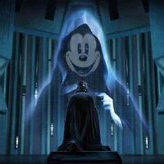 Not even the Force is strong enough to stop the Mickey Empire. These 20 Disney Star Wars images are only the beginning of what's to come. Images Star Wars, Star Wars Pictures, Indiana Jones, Pixar, Star Wars Disney, Walt Disney, Disney Fun, Disney Stuff, Funny Disney