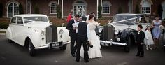 Stunning regal look - 2 x rare classic Rolls-Royces. See more of them at www.AusInStyle.com.au #wedding