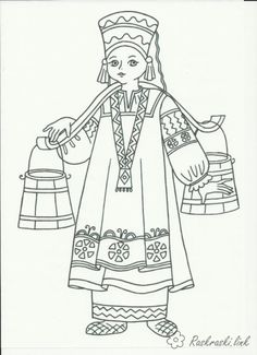 Saint Basil's Cathedral. PDF Coloring page. #moscow #