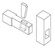 Kiilaliitoksen suunnittelu - Puusepän liitokset - PuuProffa