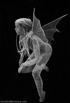 Amazing Chicken Wire Sculptures by Derek Kinzett