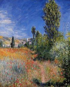 "Claude Oscar Monet ~ ""Landscape On The Ile Saint Martin"""