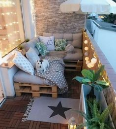 90 Comfy Apartment Balcony Decorating - Cozy Condominium Balcony Living in a Look Interior the flat, everyone can detect that the balconies, while some others within most instances. Apartment Balcony Decorating, Apartment Balconies, Cool Apartments, Apartment Ideas, Small Room Design, Balcony Design, Balcony Ideas, Outdoor Balcony, Diy Pallet Furniture
