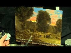 Painting in oils : how to art instruction in classical tonalist manner with art entertainment & fun - YouTube