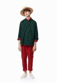 JohnUNDERCOVER SS17 Collection Jun Takahashi's successful sub-label presents an eclectic collection for SS17