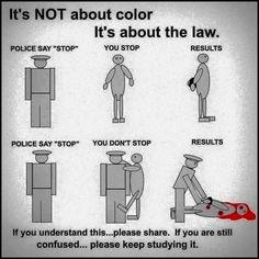 actually black ppl get shot by police for minor crimes and even doing nothing wrong maybe you should do a little more research Way Of Life, The Life, Police Humor, Police Life, Keep The Peace, First World Problems, Liberal Logic, Home Of The Brave, Get Shot